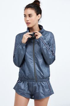 Heroine Sport Racing Windbreaker | Bandier