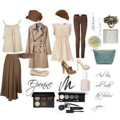 Eponine Thenardier ~ Traditional & Modern, created by mimibroadway on Polyvore
