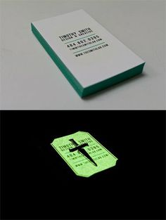 plain text, teal, glow in the dark