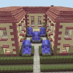 #minecraft #house http://veterancraft.net