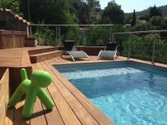 Terrasse ip andernos les bains tour de piscine sans margelle piscine pinterest - Piscine tubulaire avec terrasse lyon ...