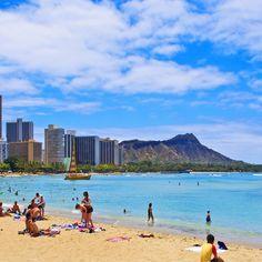 Waikiki Beach #Hawaii