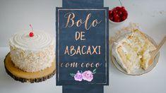 BOLO DE ABACAXI COM COCO - YouTube