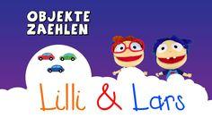 Zahlen lernen für Kleinkinder deutsch - Lilli und Lars zählen!