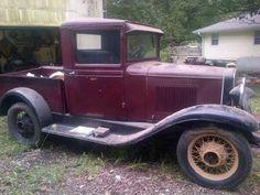 rare 1931 chevy truck | Little