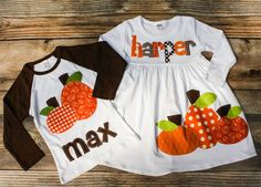 Fall Sibling Outfit  Brother Sister Matching Outfits for