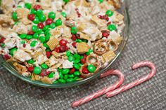 christmas chex party mix
