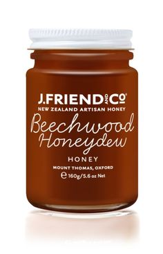J.Friend and Co Honey - Minimal, pretty and to the point. How we like it!