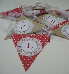 Love Is Sweet Wedding Bunting by BenandJess on Etsy