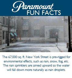Paramount Fun Facts