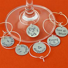 Harry Potter Potions Wine Charms - Spiffing Jewelry
