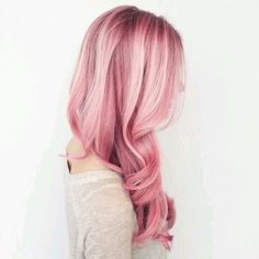30 Pink Hairstyles Ideas for this Season - Part 9