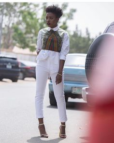 In other news... Today is Wednesday. #styleinspiration . . Where would you rock this look... Work? School? Church? Play? All of the above? cc: @thebrowniegram #WCW #styleinspiration #shopinlagos #lagosyardsale