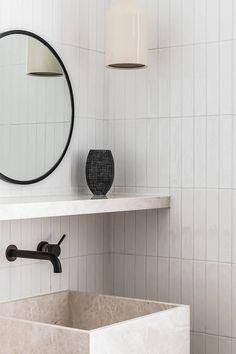 Darlinghurst Terrace by Tom Mark Henry - Australian Interior Design Awards Australian Interior Design, Interior Design Awards, Bathroom Interior Design, Interior Colors, Interior Modern, Modern Bathroom, Small Bathroom, Master Bathroom, Bathroom Ideas