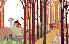 El bosque de Caperucita