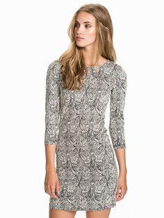 Riya Dress - Soaked In Luxury - Print - Klänningar - Kläder - Kvinna - Nelly.com