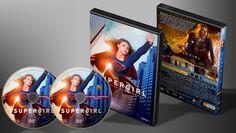 Super Girl - Primeira Temporada - Capa   VITRINE - Galeria De Capas - Designer Covers Custom   Capas & Labels Customizados