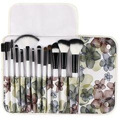 UNIMEIX Makeup Brushes Premium Makeup Brush Set Synthetic Kabuki Cosmetics Foundation Blending Blush Eyeliner Face Powder Brush Makeup Brush Kit (12 Pieces) ** Visit the image link more details. (This is an affiliate link) #MakeupBrushesTools