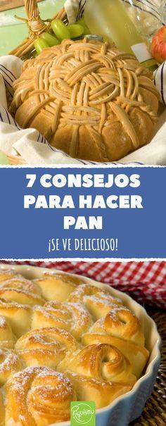 Hornea el pan: estas 7 recetas te enseñan qué hacer con la masa