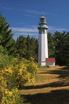 Grays Harbour Lighthouse V by Inge Riis McDonald