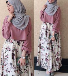 fashion hijab Skirt Boho Outfit Fashion 61 Ideas For 2019 Modern Hijab Fashion, Islamic Fashion, Abaya Fashion, Muslim Fashion, Skirt Fashion, Modesty Fashion, Modest Dresses, Modest Outfits, Boho Outfits