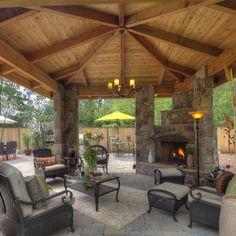 Outdoor living room -