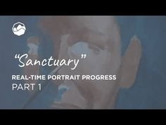 """""""Sanctuary"""" - Painting progress, Part 1 // Art by Sabra Awlad Issa First Art, I Decided, Issa, Mixed Media Art, Portrait, Online Courses, Collaboration, Painting, God"""