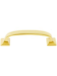 """Available in Antique Brass. York Cabinet Pull - 3 & 1/2""""Center to Center 