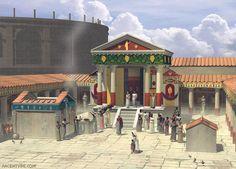 Templo de Ísis em Pompéia