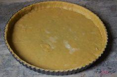 basisdeeg voor hartige taarten, patesserie, basisrecept, quiche