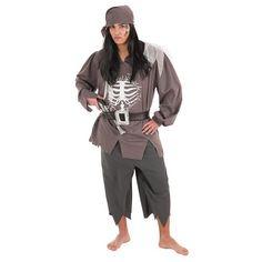 Disfraz Adulto Pirata Skelet