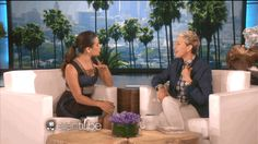 When Lea Michele's heart stopped. | 26 Times Ellen DeGeneres Scared The Crap Out Of Famous People