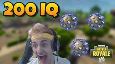 ninja insane 200 iq impulse grenade plays fortnite battle royale youtube - prince royce fortnite