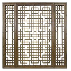 19th Century Chinese Window Screen | From a unique collection of antique and modern paintings and screens at https://www.1stdibs.com/furniture/asian-art-furniture/paintings-screens/