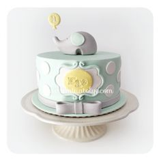Baby Shower Pasta, Baby Shower Cakes, Birtday Cake, Baptism Party, Safari Party, Cakes For Boys, Cute Cakes, Butter Dish, Boy Birthday