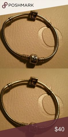 Pandora bracelet Seven inch bracelet charm not included. Pandora Jewelry Bracelets