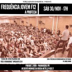F12 A Profecia #PqSaoJoao #FJUParaná #Flyer