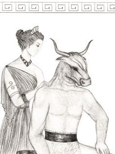 Ariadne and the Minotaur