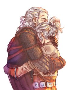 Father and Daughter by Inain1.deviantart.com on @DeviantArt