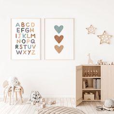 Nursery Prints, Nursery Wall Art, Nursery Decor, Nursery Frames, Girl Nursery, Nursery Ideas, Bedroom Decor, Wall Decor, Cool Wall Art