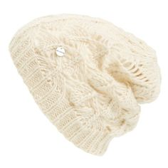 ModenaCrochet Beanie ($18) ❤ liked on Polyvore featuring accessories, hats, ivory, crochet beanie hat, acrylic beanie, modena, acrylic hat and crochet hats