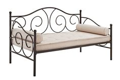 AmazonSmile: DHP Victoria Twin Sized Metal Daybed: Kitchen & Dining