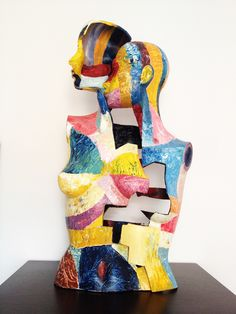 Painted sculpture/mannequin - Augusto Zerbi - www.augustozerbi.com