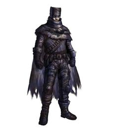 A near-future Batman of the post-apocalyptic plains. | 17 Visions Of Batman Throughout The Ages