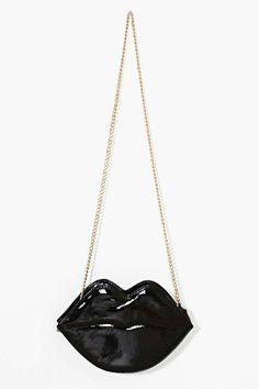 GOTH Dark Glamour ✤ :: Gothic Black Flaming Lips Bag