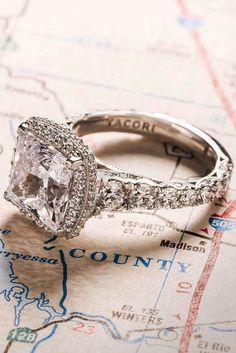 18 Tacori Engagement Rings You'll Never Forget ❤ See more: http://www.weddingforward.com/tacori-engagement-rings/ #weddings #engagementrings