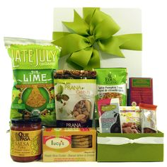 We are mad about Healthy Gourmet Gifts, sellers of a full range of beautifully packaged, healthy and organic gift baskets that your vegan, vegetarian and gluten- free will enjoy. Their well designed website makes it easy to shop by diet, occasion and even price, so shopping is a breeze. They'll also customize gifts just for you, and even have a corporate department to handle your company's unique needs and ship throughout North America.Woot woot. www.healthygourmetgifts.com
