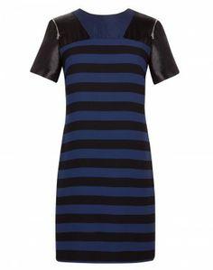 Striped Dress // Ruche