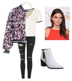 """""""Set#165"""" by anneclo2 on Polyvore featuring Topshop, Jules Smith, Markus Lupfer, Office, women's clothing, women, female, woman, misses and juniors"""