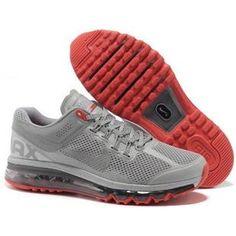reputable site 980c7 5ecbd Nike Air Max 2013 Men Gray Silver